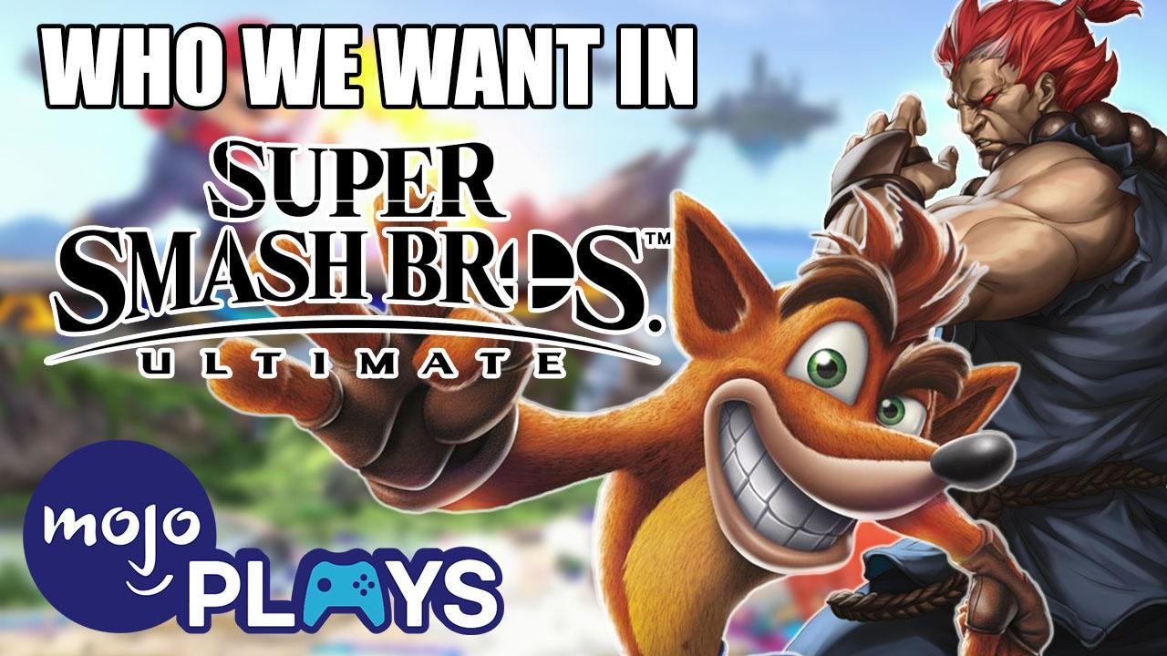 Ultimate Character Wishlist for Smash Bros  Ultimate