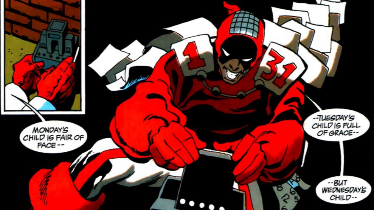 Supervillain Origins: Calendar Man