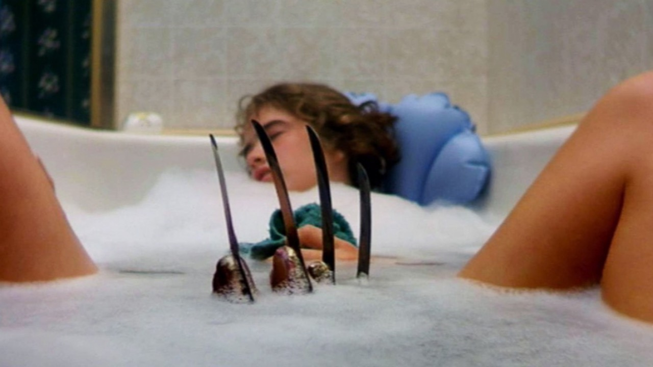 Image result for nightmare on elm street bath