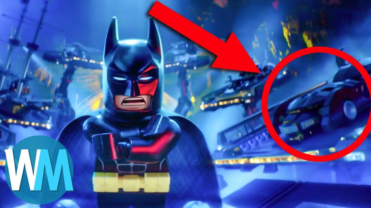 Top 10 Lego Batman Easter Eggs Watchmojo Com