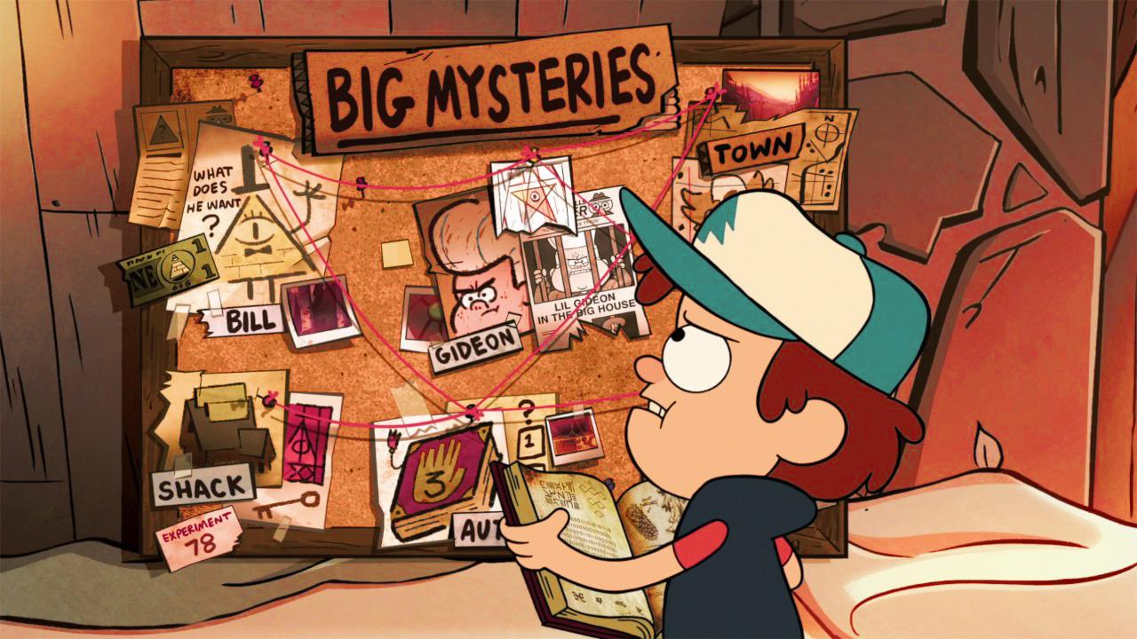 Top 10 Gravity Falls Mysteries