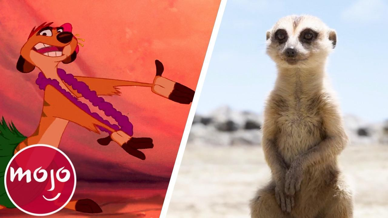 Top 10 Differences Between The Lion King 1994 2019 Watchmojo Com