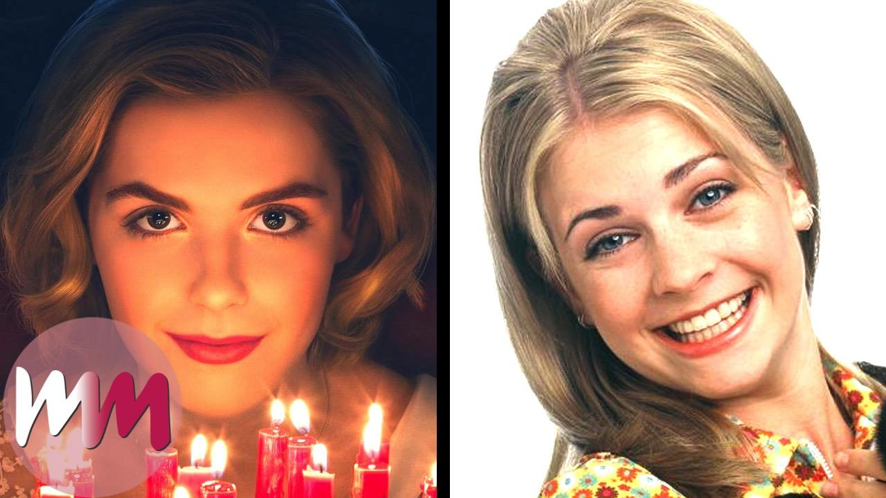 Top 10 Differences Between Chilling Adventures Of Sabrina Sabrina The Teenage Witch Watchmojo Com He is an actor, known for обаятельная и. sabrina the teenage witch