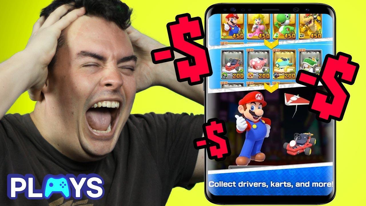 How Mario Kart Tour Manipulates You Watchmojo Com