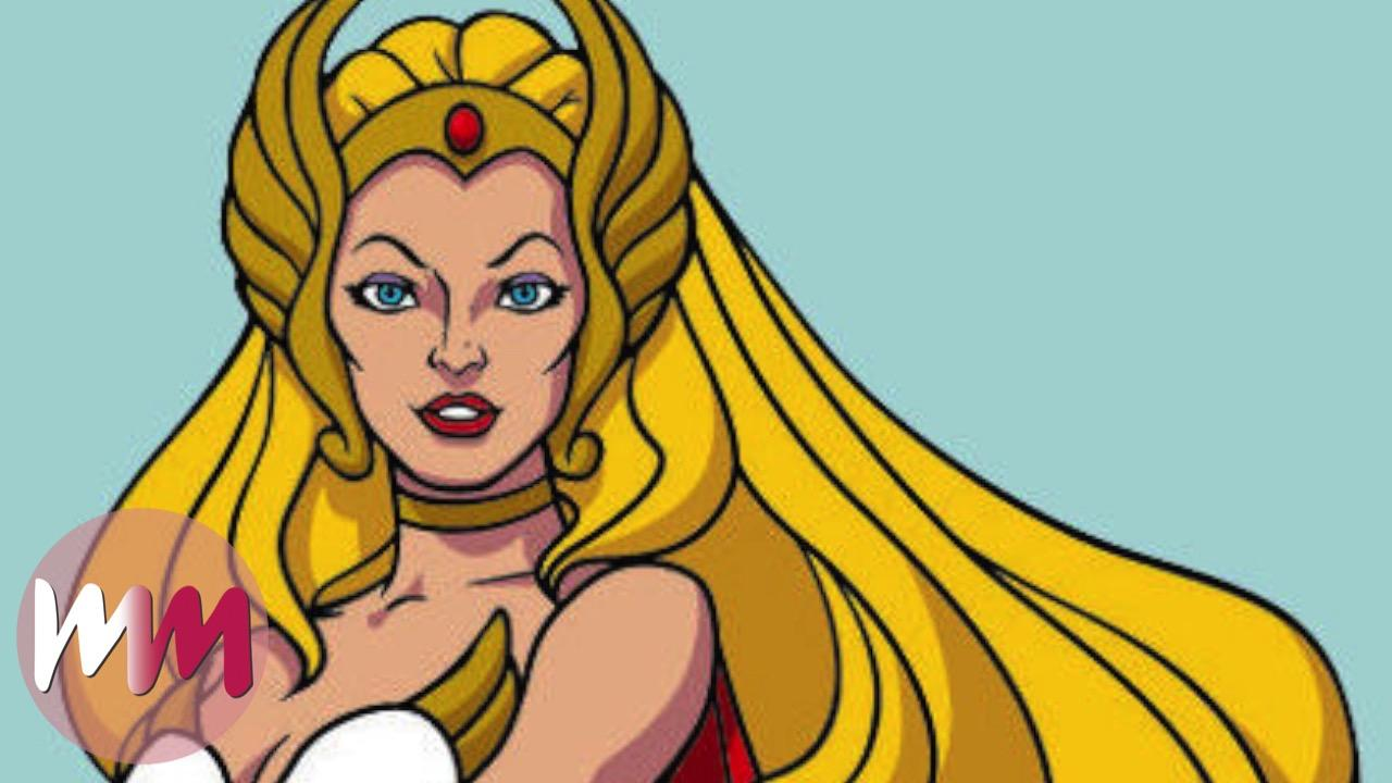 Top 10 Cartoon Princesses