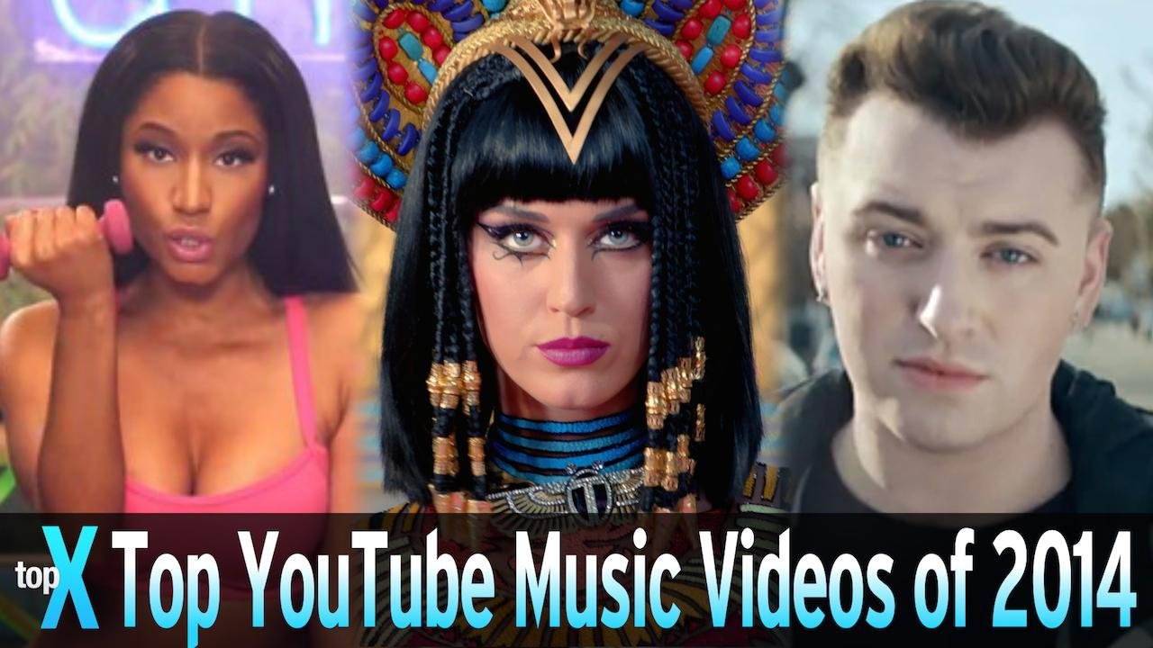 Top 10 YouTube Music Videos of 2014 -  TopX Ep.26