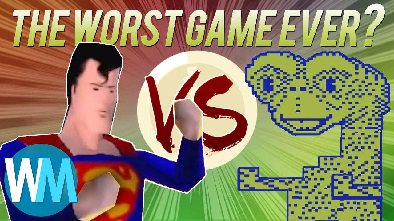 Superman 64 VS E.T. Atari: Battle for the Worst Game Ever