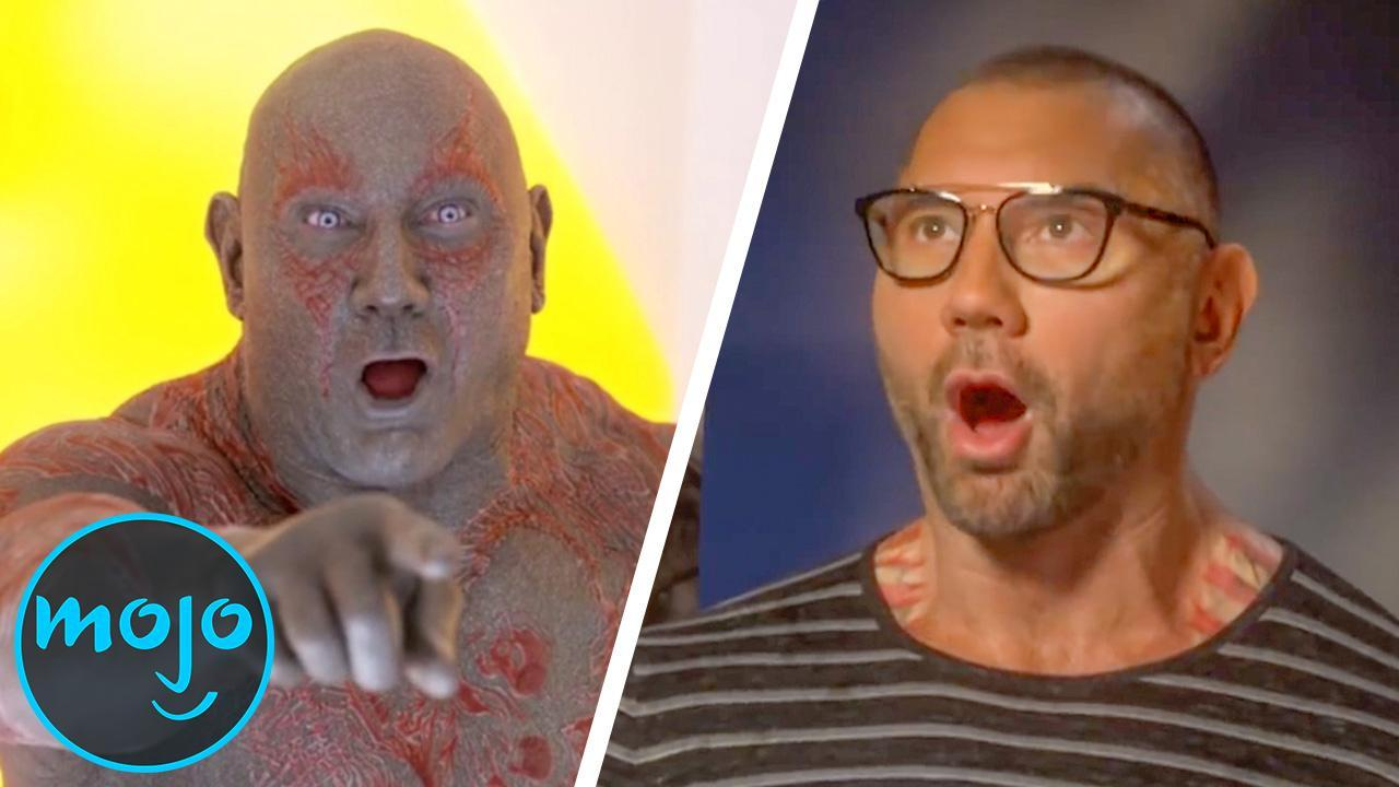 Top 10 Funniest Dave Bautista Moments from Outside the Ring