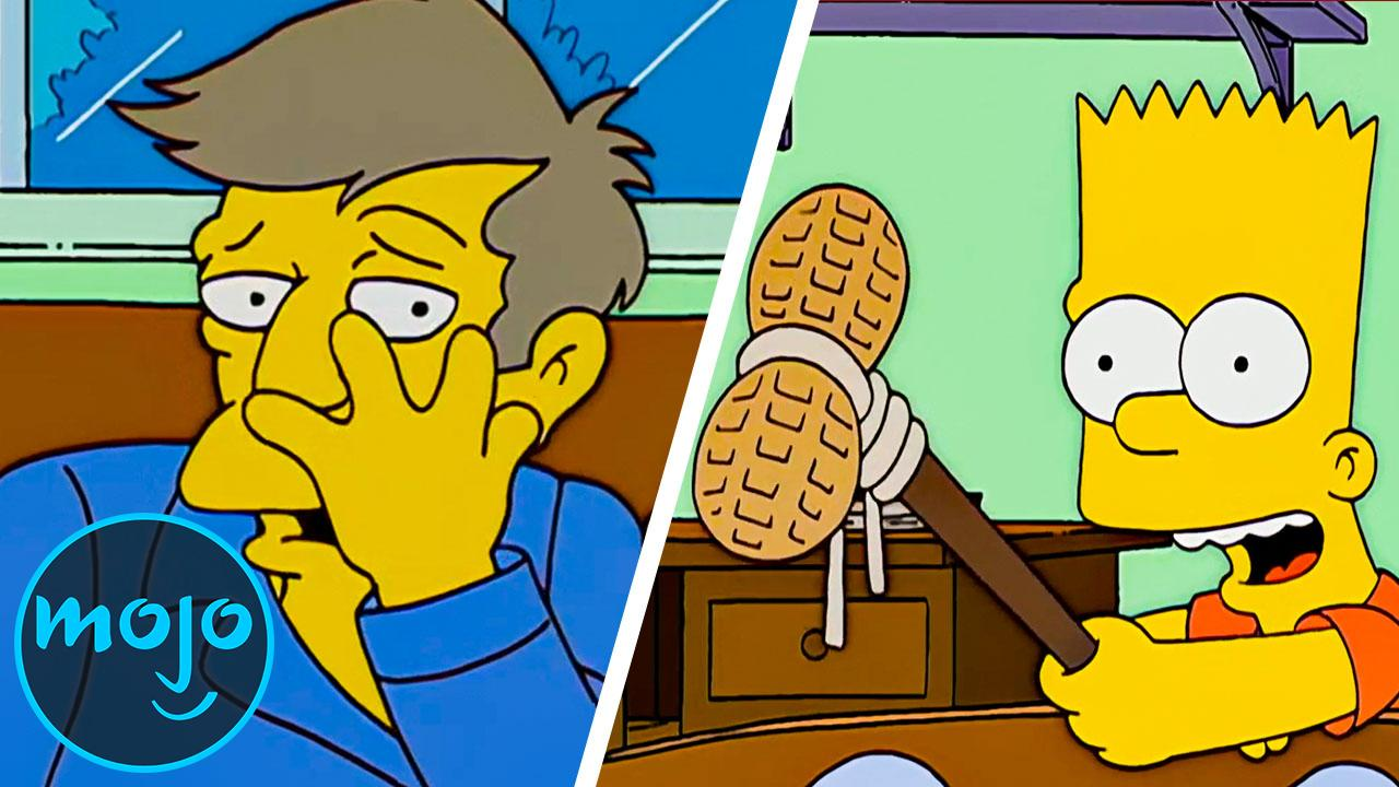 Top 10 Worst Things Bart Simpson Has Done Watchmojo Com