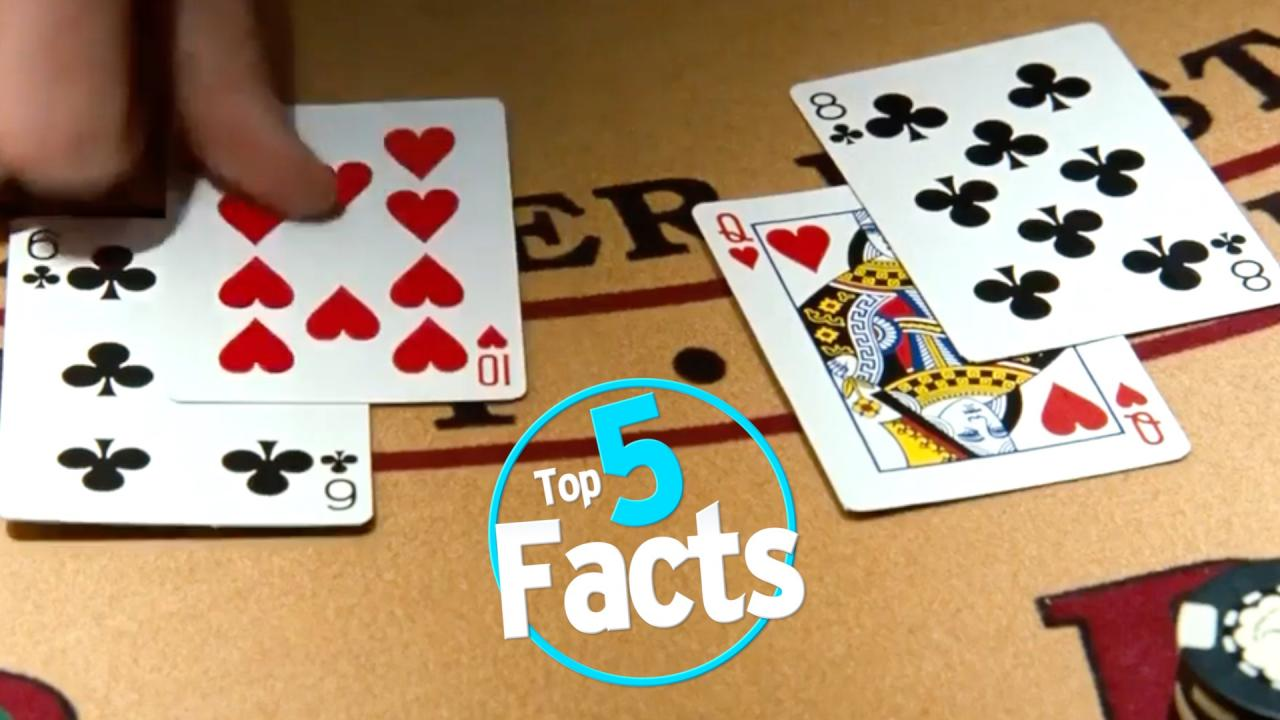 Top 5 Facts About Casinos and Gambling